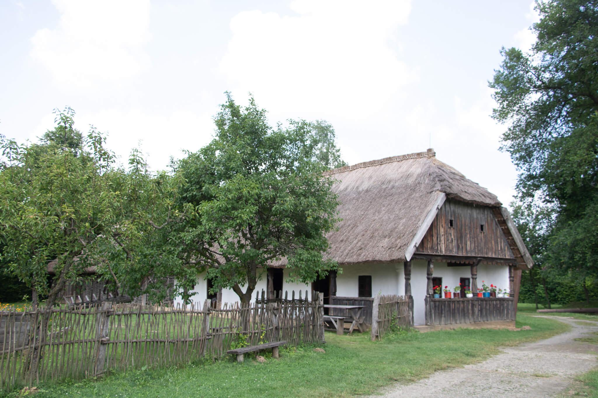 Szenna, openluchtmuseum, museum, hongarije